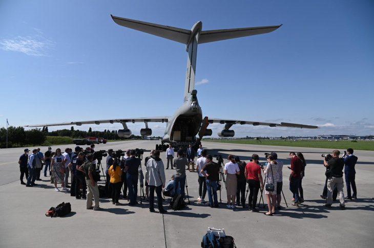 В Україні зустріли найбільший гуманітарний вантаж з КНР проти COVID-19